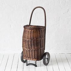 Korb-Shopper 159.00 Euro - love this! Make a great needlework basket...