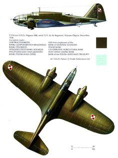 PZL P-37 Łoś A (PZL Pegasus XII B) Serie 72.11 - Aviazione Polacca, 1° Reggimento Aereo, Warsaw Okecie, dicembre 1938