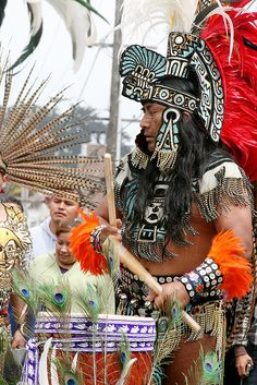 Aztec Costumes   Aztec Dance   Flickr - Photo Sharing!