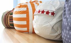 Rollie Pollie! | So You Think You're Crafty - bean bags with slipcover - pattern