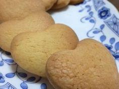 材料5つで♪簡単ハトサブレ味クッキーの画像