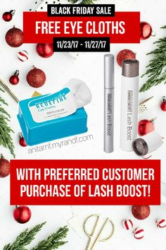 FREE Redefine Eye Cloths with purchase of Rodan and Fields Lash Boost! Black Friday sale starts Nov. 23 2017 through Nov. 27 2017. Offer valid only at anitarnf.myrandf.com. Free product will ship to delivery address when your order has confirmed delivery. Email me at anitarnf1@gmail.com for questions or concerns. #blackfriday2017 | Free Stuff | Flash Sale | cyber Monday deals