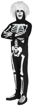 Saturday Night Live David S Pumpkins Beat Boy Skeleton Adult Costume - One Size - PartyBell.com