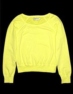 Textile Elizabeth and James Sweatshirt Neon