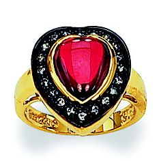 Jackie Kennedy heart ring