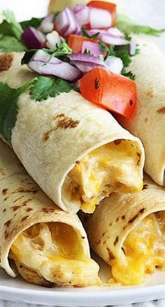 Slow Cooker Cream Cheese Chicken Taquitos.  These sound super simple to make in the crockpot and yummy!
