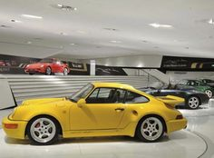 Porsche 911 Turbo S 3.6. Also I wish I had that collection!