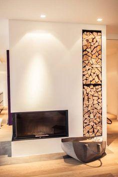 Renovierung einer Villa am Stadtrand von Salzburg zu einem luxuriösen Wohn-Loft (Foto: Florian Stürzenbaum): moderne Wohnzimmer von Meissl Architects ZT GmbH