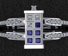 I Do: Doctor Who TARDIS Engagement Ring