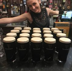 """This is what 20 pints of Guinness looks like at the Duke of York pub in Belfast on our Optional fish and chip dinner and drink in a pub  #simplytrafalgar #trafalgar #BestofIrelandandScotland #Belfast  #visitireland  #travel #holiday #vacation #travelling #travels #travelphotography #traveller #travelgram  #travelblog #travelbug #travelblogger #travelpics #travelphoto #travellife #traveladdict #traveldiaries #travellers #travelph #traveldeeper #travelphotos #instatravel  #ireland"" by…"