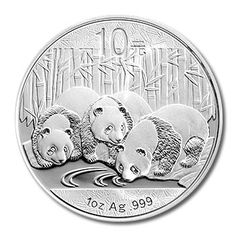 Provident Metals is pleased to carry the 2013 1 ozt Chinese Silver Panda. Each silver bullion panda coin is struck with exactly one ounce of pure silver in the peoples republic of china.