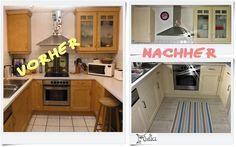 Mein Großprojekt für das Jahr 2014: Unsere Küche aufhübschen ! Wer ein älteres Haus kauft, bekommt meistens auch gleich eine alte Küche inklusive, die so gar nicht den eigenen Vorstellungen entspri...