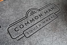 Common Man - Restaurant on Behance
