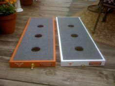 Washers game. Boards buckle together for storage                                                                                                                                                      More