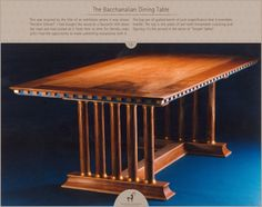 The Bacchanalian Dining Table
