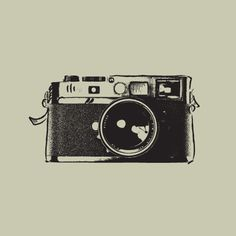 All sizes | Vector Vintage Camera, via Flickr.