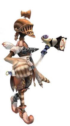 Final Fantasy Crystal Chronicles - Illusionist Yuke