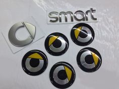Find More Stickers Information about Free Shipping 7Pcs/Set Smart Front Rear Steering Wheel Emblem Center Cap Stickers Mercedes Benz Smart Badge,High Quality badge picture,China badge mould Suppliers, Cheap badge card from Wheel hub cover manufacturer on Aliexpress.com