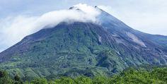 Active Volcano Mount Merapi - Central Java - Indonesia