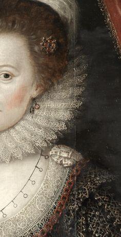 William Larkin circle of Portrait of a Lady
