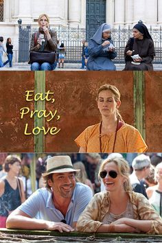 Although Eat, Pray, Love was released in it still inspires wanderlust for anyone watching for Italy, India, and Bali. Javier Bardem, Elizabeth Gilbert, Falling In Love Again, Eat Pray Love, Best Italian Recipes, Padang, Julia Roberts, Ubud, Memoirs