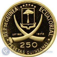 1970 Equatorial Guinea 250 - thumbnail | goldankauf-haeger.de
