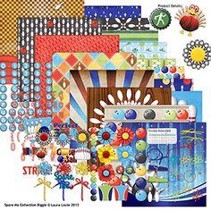 Spare Me Collection Biggie by Laura Louie @Alice Vargas Hall Girls #digital #scrapbooking