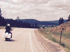 On the way to Devils Tower.