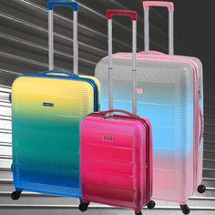 COLECCIÓN LAS VEGAS Esta línea de valijas y beauty case se destaca por las exclusivas combinaciones de color. www.primicia.com.ar