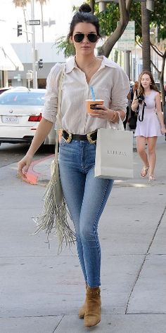 How to wear the western trend a la Kendall Jenner, without looking like a cowgirl