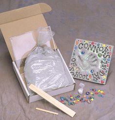 cac67bc749627 Kids Stepping Stone Kit  topseller  kit  DIY  design  kids Mosaic Stepping. Milestones  Stepping Stones