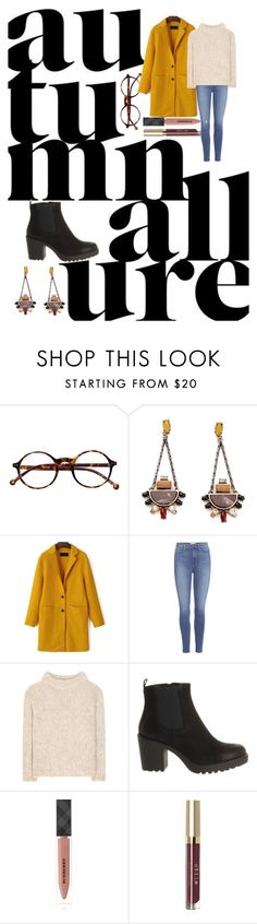 """""""tuesday"""" by perfectwitch on Polyvore featuring mode, Retrò, Paige Denim, Tom Ford, Vagabond, Burberry et Stila"""