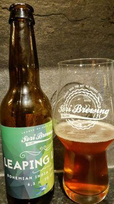 Sori Leaping Lena IPL. Watch the video beer review here www.youtube.com/realaleguide #CraftBeer #RealAle #Ale #Beer #BeerPorn #SoriBrewingCompany #SoriBrewing #Sori #SoriLeapingLena #LeapingLena #EstonianCraftBeer #EstonianBeer