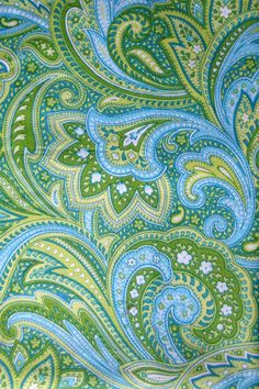 paisley - in the dark blue/dark green color scheme. as an alternative plan. Motif Paisley, Paisley Art, Paisley Design, Paisley Pattern, Pattern Art, Pattern Design, Green Pattern, Textures Patterns, Fabric Patterns