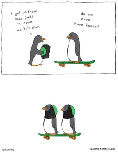Oh my gosh I love this! | Awkward Everyday Lives Of Animals By Simpsons Illustrator Liz Climo