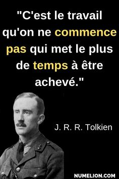 Tolkien quote - You have to start to finish - - Sober Quotes, Positive Quotes, Motivational Messages, Inspirational Quotes, Blabla, Einstein, Tolkien Quotes, Philosophical Quotes, Quote Citation