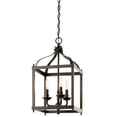 Kichler Lighting Larkin Collection 3-light Olde Bronze Pendant - 18962106 - Overstock.com Shopping - Great Deals on Kichler Lighting Chandeliers & Pendants