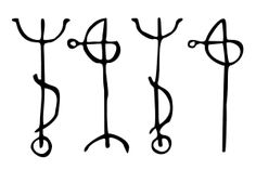 "Symbols: An Icelandic Magical Stave called Draumstafir; ""To dream what your heart desires. Esoteric Symbols, Rune Symbols, Viking Symbols, Ancient Symbols, Esoteric Tattoo, Reiki Symbols, Mayan Symbols, Egyptian Symbols, Viking Runes"