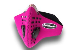 Summary : • : Best Protection for the Playa : • : Combo HEPA/CHARCOAL filter for... : • : Highest degree of filtration : • : Replace with Techno™ Replacement Filters : • : More breathing resistance than Sportsta, Cinqro, Nitesight : • : (because of better filtration) Detail The PINK! Techno™ Mask combines the Sportsta™