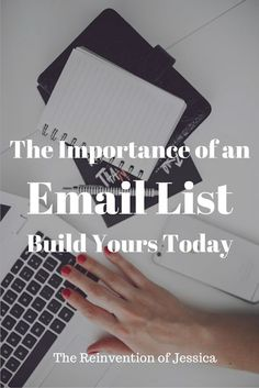 A Blogger's Most Important Tool:  The Email List