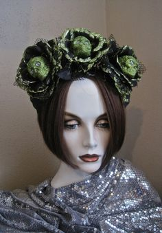 Very Cultivated: Skull Rose Crown Day of the Dead by MorticiaSnow