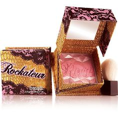 Benefit Cosmetics Rockateur blush = My everyday blush! Looks beautiful and last all day, plus, smells Amazing!