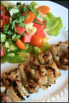 Shish Kebab – Middle Eastern Lamb Skewers #glutenfree
