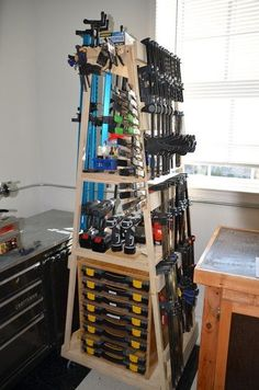 Mobile Assembly/Clamp Rack