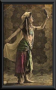 Tribal Bellydance with Shay Moore in Seattle, WA - Deep Roots Dance - Tribal and Fusion Bellydance with Shay Moore: Fabulous Friday - Vintage Gypsy Photo
