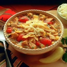Tortilla soup for turkey lovers!