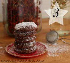 Kermaruusu: Joulukalenteri - luukku 3: Minttusuklaacookies