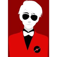 I'm totally an unashamed Dave fangirl Homestuck ❤ liked on Polyvore featuring homestuck