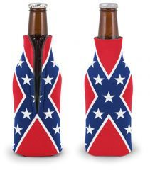 Bottle Koozie Cooter's Confederate (RED)