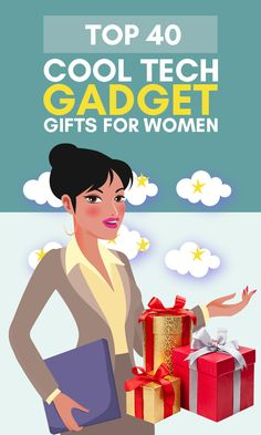 Whoever says that women are not into tech gifts or gadgets is just plain wrong. Our surveys show that almost 7 out of 10 women would like to receive a tech gift! Even more so if they are below 30 years old. Bottom line? Don't trust the stereotypes, if you've seen her with gadgets before, she might even be a techie! For those of you that don't have time to go and check out CES for the latest gadgets of 2020, we made this ultimate list of cool tech gifts for women. Great Gifts For Mom, Unique Gifts For Her, Gifts For Teens, Gifts For Women, Christmas Gifts For Coworkers, Christmas Gift Guide, Bucket List Ideas For Women, Cool Tech Gadgets, Latest Gadgets